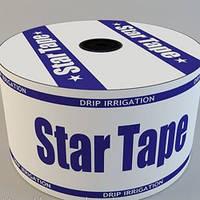 Капельная лента Star Tape (Стар Тейп) 8 милс, 10 см, 0,75 л/ч, 500 м бухта, Украина