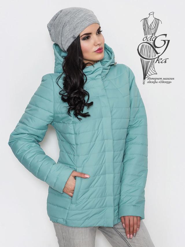 Фото-1 Женской демисезонной куртки больших размеров Айсель-2
