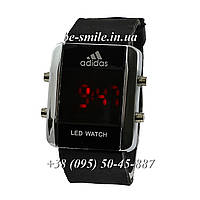 Adidas Led Watch Silver-Black