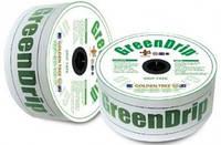 Капельная лента GreenDrip (ГринДрип) 6 милс, 30 см, 1,2 л, 1400 м бухта, Seowon Корея