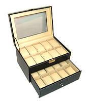 Шкатулка для часов и браслетов большая 24 ячейки Rothenschild