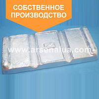 Сплавы цинковые ЦА, ЦАМ от украинского производителя. ОПТОВЫЕ цены.