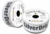 Капельная лента SilverDrip (СильверДрип) 6 милс, 10 см, 1,2 л, 1500 м бухта, Seowon Корея