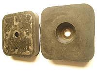 Подушка крепления кузова ГАЗ 3302, 2705, 3221 Газель, 2217 Соболь нижняя (2705-5001085, пр-во Балаково)