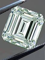 0.72 карат VVS1 Бело-голубой Бриллиант муассанит 5.90  х 4.66 мм