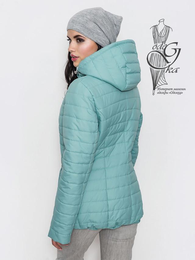 Фото-2 Женской демисезонной куртки больших размеров Айсель-2