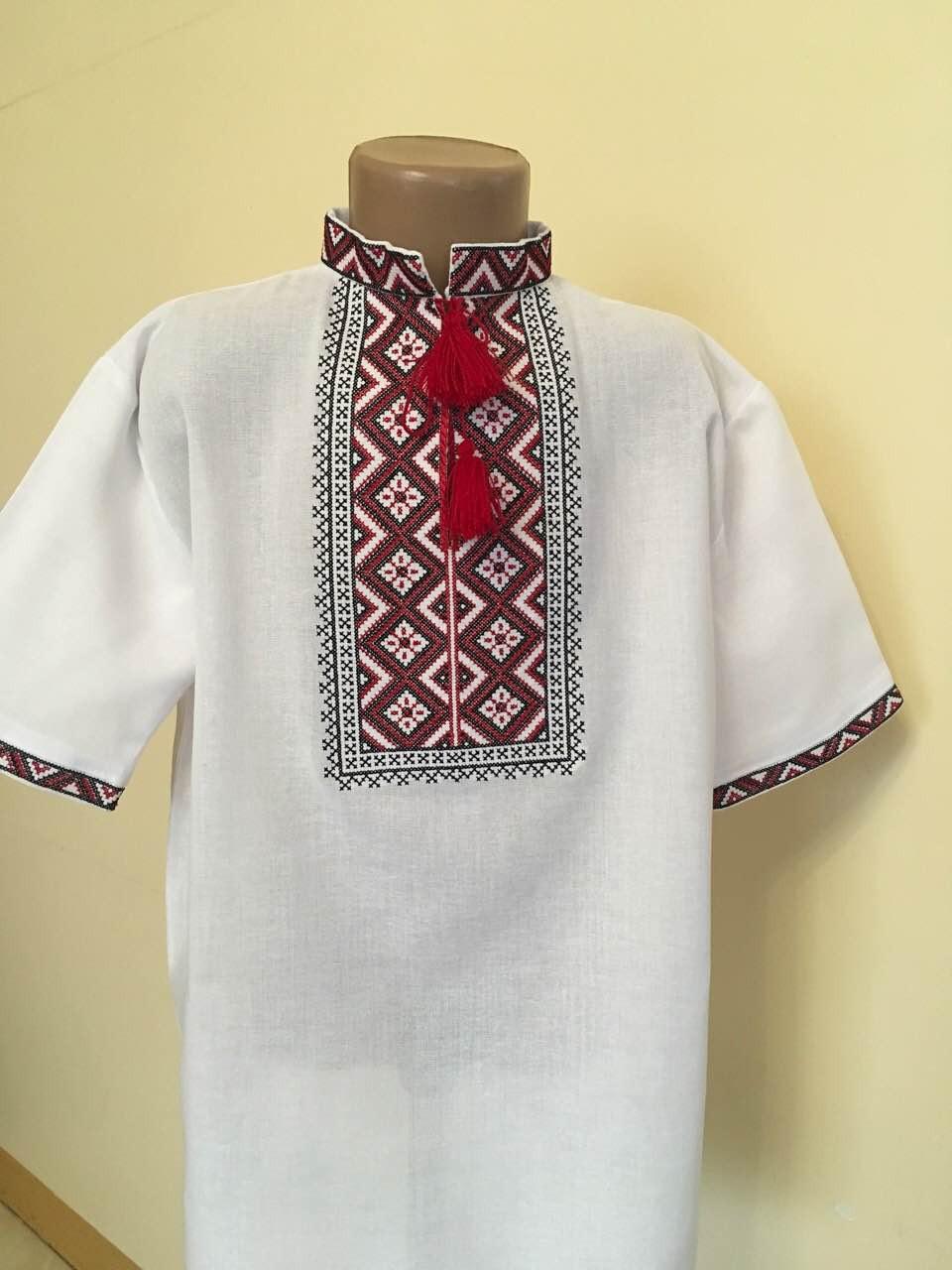Сорочка вишита на літо для хлопчика 11-12 років  продажа 355e6f38bd615