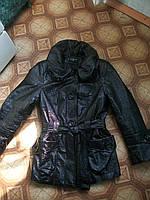 Куртка лаковая женская р.46