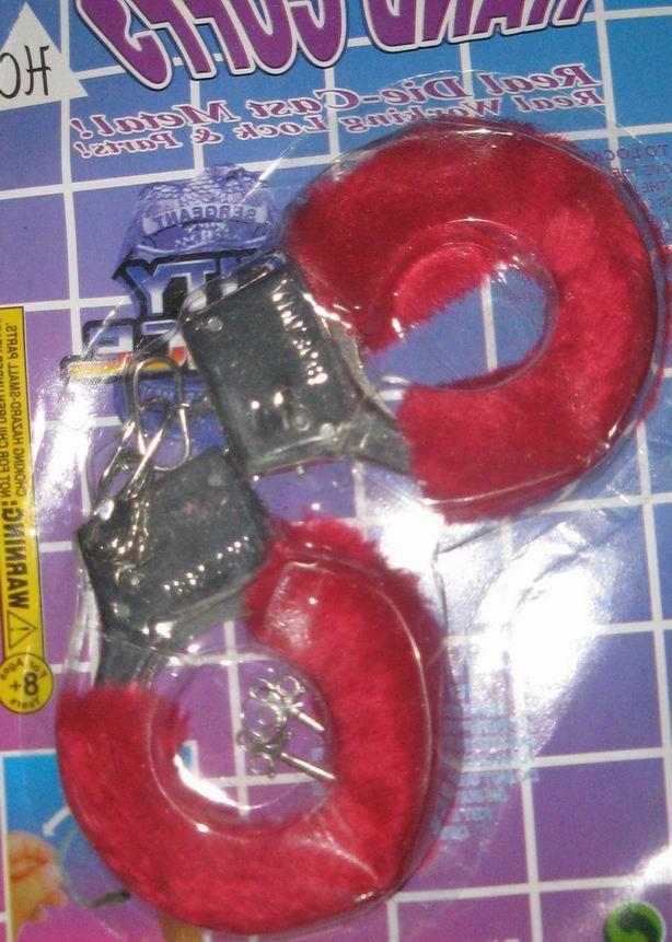 Наручники металлические с мехом Hand Cuffs