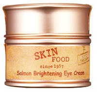 Крем (не консилер) для кожи вокруг глаз экстрактом икры SKINFOOD Salmon Brightening Eye Cream 30мл, фото 1
