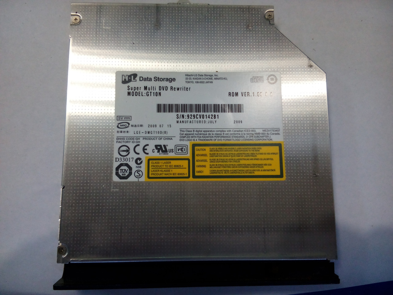 Оптичний привід для ноутбука LG GT10N
