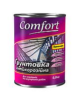 """Грунтовка """"COMFORT"""" ГФ-021 (красный) 0,9 кг."""