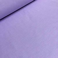 Однотонная  польская бязь светло- сиреневого цвета 125г/м2 № 532