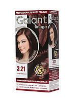 Стойкая Крем-Краска для Волос GALANT IMAGE 3.21 Черная Вишня