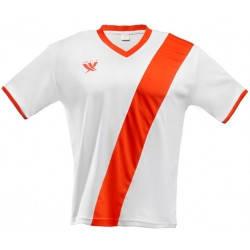 Футболка футбольная SWIFT 21 Cinta Tactel (бело/красная), фото 2