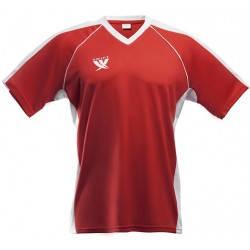 Футболка футбольная SWIFT 12 Lions Tactel (красно/белая), фото 2