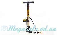 Насос напольный ручной с манометром для мячей/велосипедов Luky Sonny 221