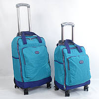 Дорожня  сумка на колесах  (невелика)