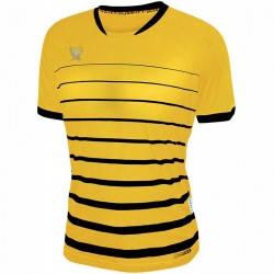 Футболка футбольная Swift FINT CoolTech (желто/черная), фото 2