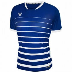 Футболка футбольная Swift FINT CoolTech (т.сине/белая), фото 2