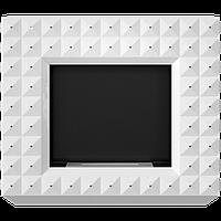 Kratki EGZUL с кристалами SWAROVSKI  Белый матовый
