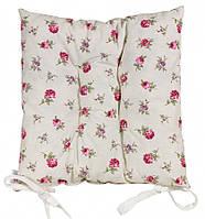 "Подушка на стул ""Английский цветочек"""