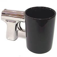 Чашка Серебряный пистолет