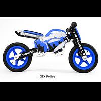 Велосипед беговой велокат Milly Mally беговел GTX POLICE надувные колеса дерево Польша