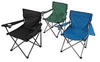Кресло, стул складной с подлокотником+чехол, для рыбалки