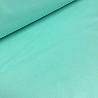 Однотонная польская бязь мятного цвета шлифованная №521