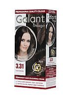 Стойкая крем-краска для волос GALANT IMAGE 3.31 Темно-Коричневый