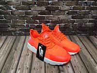 Женские кроссовки Nike Huarache оранжевые (размеры 36-40)