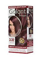 Стойкая крем-краска для волос GALANT IMAGE 3.32 Дикая Слива