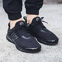 Кроссовки Nike Air Presto Fleece черные