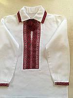 Сорочка вишита на домотканому полотні для хлопчика 5-6 років