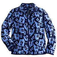 Флисовая кофта для мальчика 5/6, 7/8 лет Микки Маус Дисней / Mickey Mouse Fleece Jacket Disney