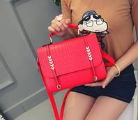 Женская сумка деловая классическая с ручкой через плечо Classic