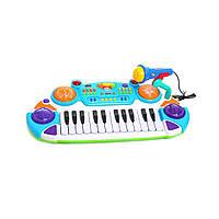 Детское пианино с микрофоном 7234