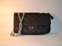 Женская красивая сумка не плечо из кожзама Шанель Lo Ace L-635