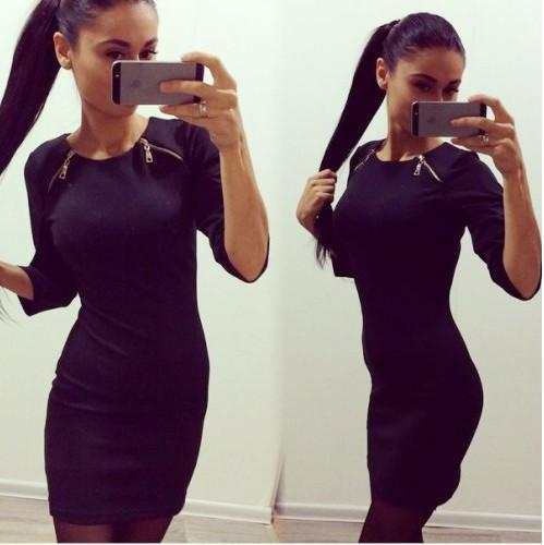 Оригинальное платье для модниц