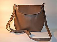 Бежевая сумочка из кожзама АА 060