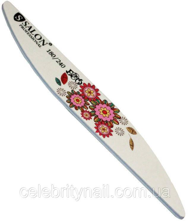 """Пилка для ногтей Salon Professional 180/240 """"Eco"""""""