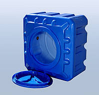 Емкость квадратная 500 л (куб) двуслойная