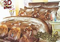 Комплект постельного белья 3D поликоттон ТМ Sveline Tekstil (Украина) двуспальный PC2690