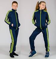 Спортивный костюм для девочки мальчика. Модно и актуально. Весна ,осень и спортзал. хб Разные цвета, фото 1