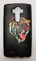 Чехол на LG G4 H815 G4/H818P Dual My Color Силикон Тигр