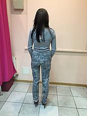 Брюки   джинсы  женские с принтом  Rinascimento , фото 3