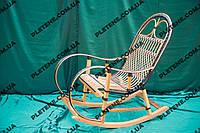 """Кресло-качалка """"Ротанг"""" коричневая"""