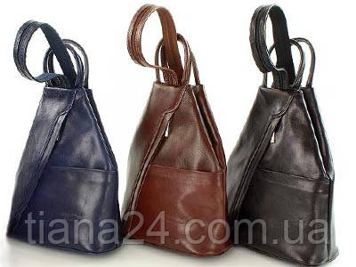 Кожаный рюкзак Vera Pelle Италия, цена 2 570 грн., купить в Львове ... 6094fa0c968