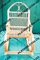 Кресло-качалка из лозы для дома